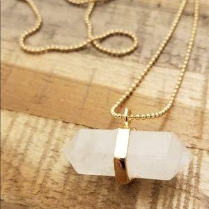 Quartz necklace-custom